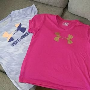 Bundled of 2 womans workout Ts $7 bundled